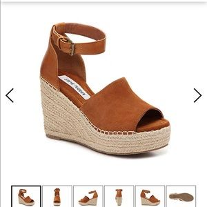 NWT Steve Madden Wedges Talissa brown